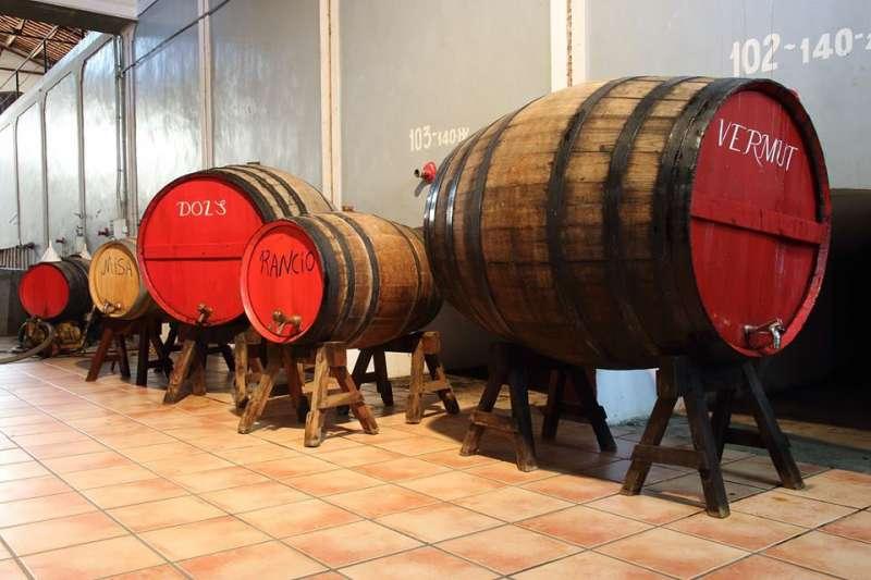 La Cooperativa vinícola Santa Bárbara  de Casinos. EPDA