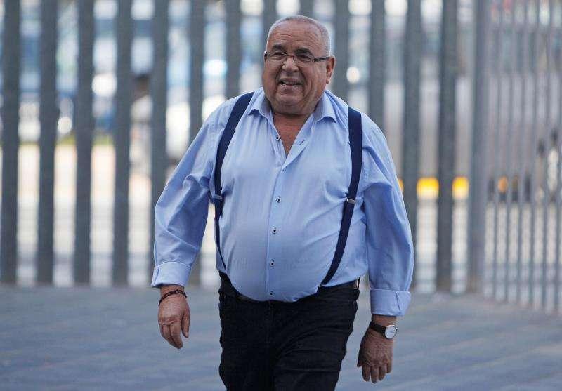 El empresario Ángel Fenoll, uno de los 34 acusados por supuestas irregularidades en el contrato de la basura de Orihuela, EFE
