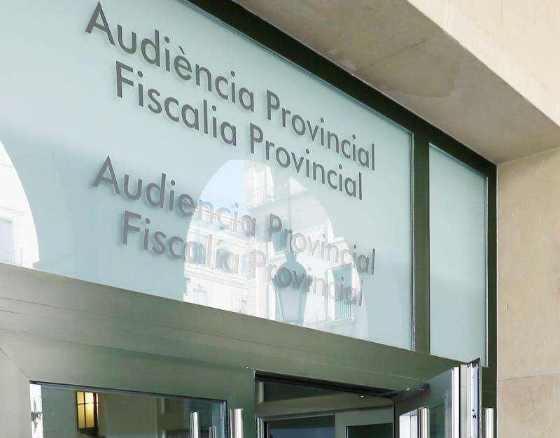 Fachada de la Audiencia Provincial de Alicante. EFE/Archivo