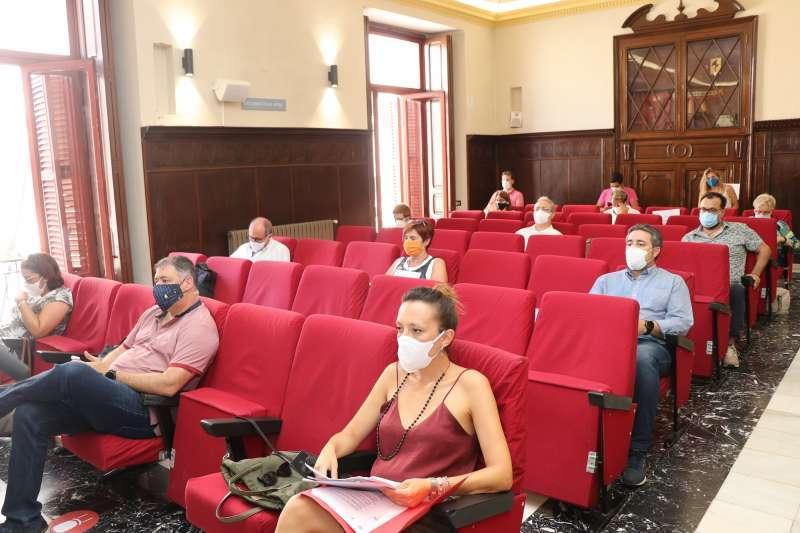 El pleno del Ayuntamiento de Sagunto. EPDA