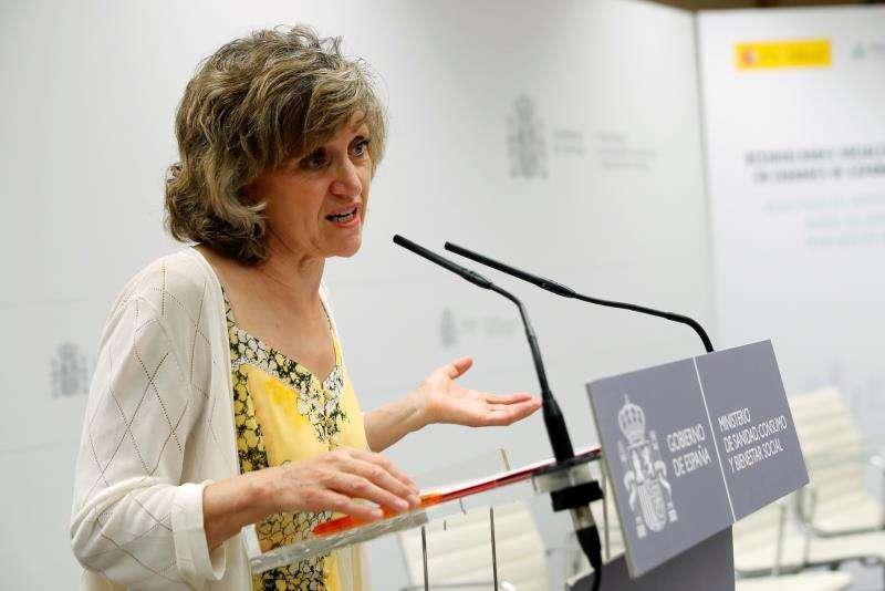 La ministra de Sanidad en funciones, María Luisa Carcedo. EFE/Archivo