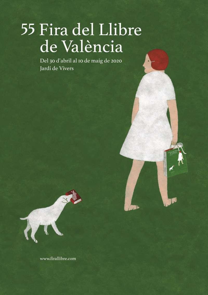 Cartell Fira del Llibre, València. EPDA