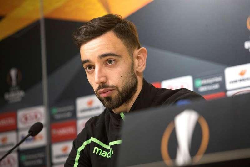 El centrocampista portugués del Villarreal Bruno Fernandes. EFE/Domenech Castelló/Archivo