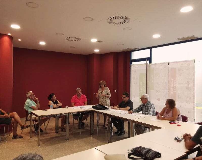 Asamblea del PSPV-PSOE de Alaquàs del mes de julio de 2017. EPDA