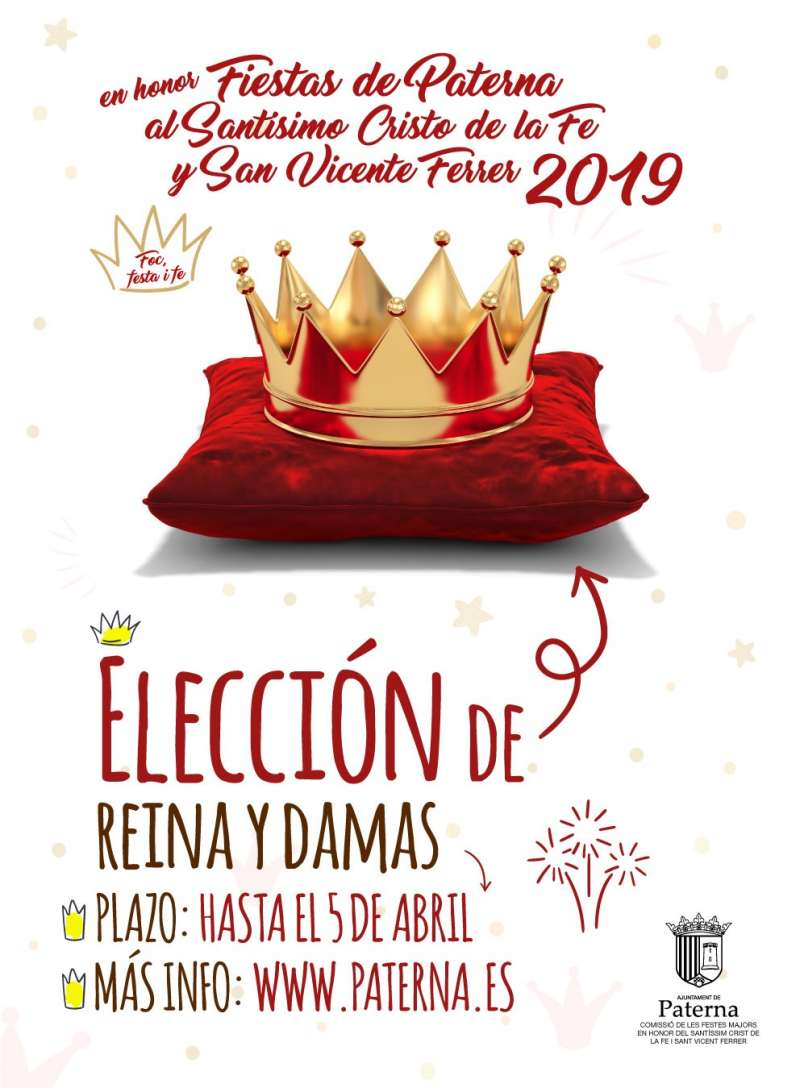Cartel Reina de las Fiestas