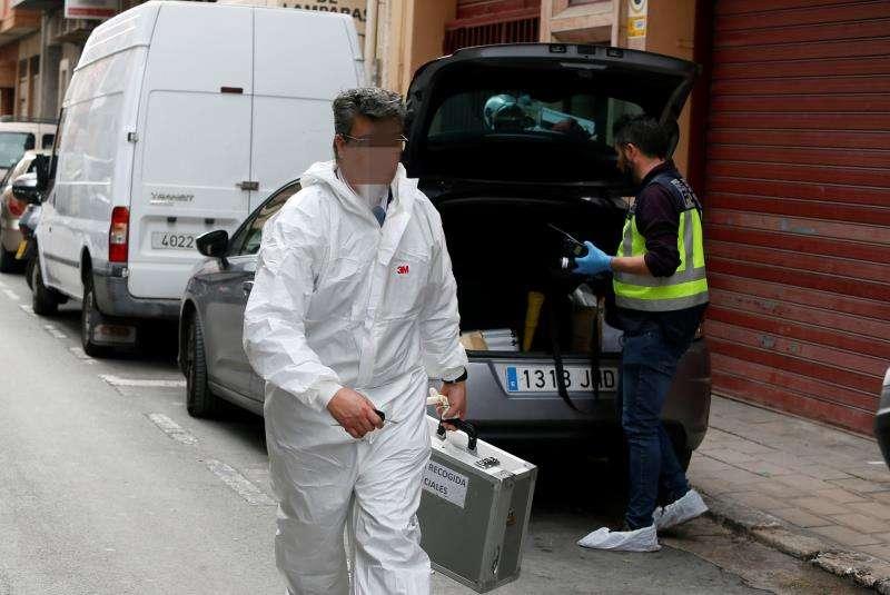 Dispositivo policial en Alicante. EFE/Archivo