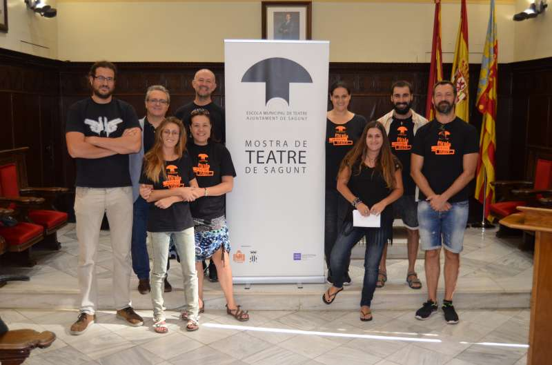 Acto de presentación de los cursos de la Escuela Municipal de Teatro de Sagunt. EPDA