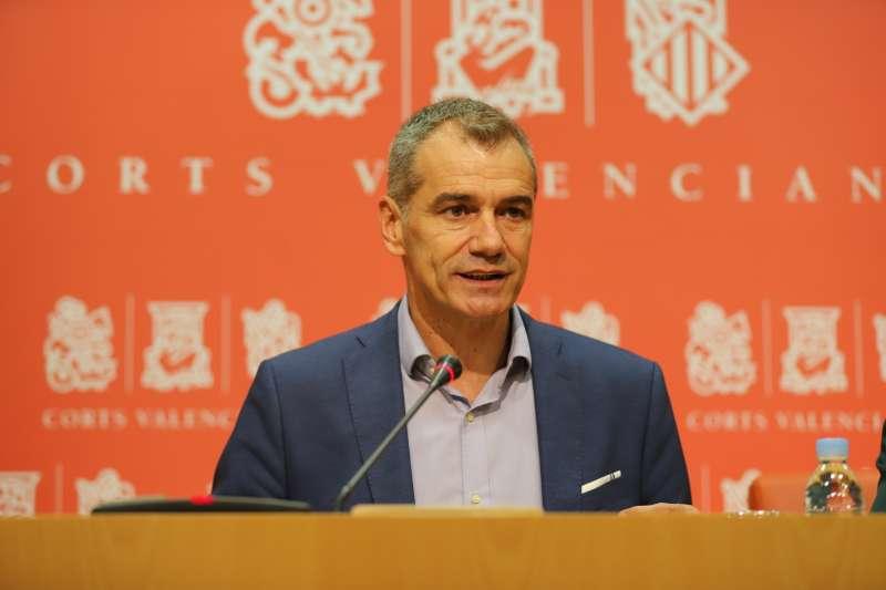 El síndic de Ciudadanos (Cs) en Les Corts valencianas, Toni Cantó. EPDA