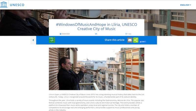 Captura de la web. EPDA