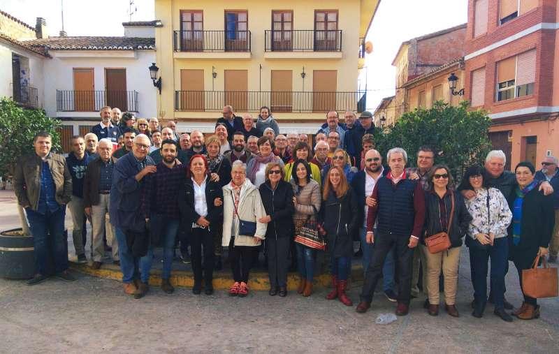 Almuerzo comarcal Petrés en noviembre del año pasado. EPDA