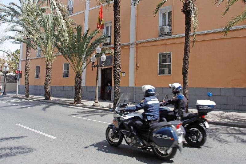 Vista general de la Comandancia de la Guardia Civil de Alicante. EFE/Archivo