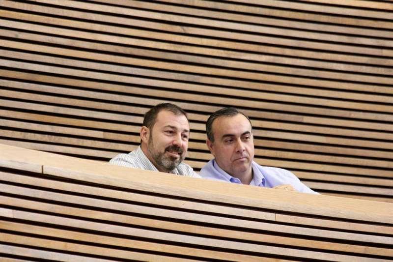 Almenar y Galindo, en les Corts, el jueves. FOTO EPDA