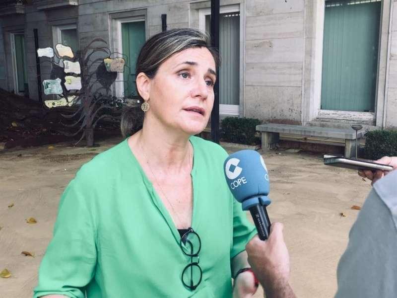 La portavoz de Política Social del PP en Les Corts, Elena Bastidas en una imagen remitida por el partido. EFE