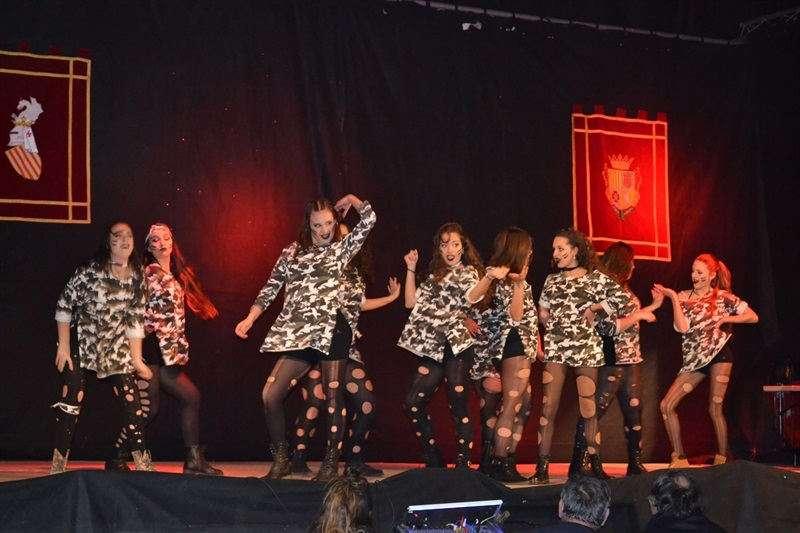 Escena de ball de la gala de Silla. EPDA
