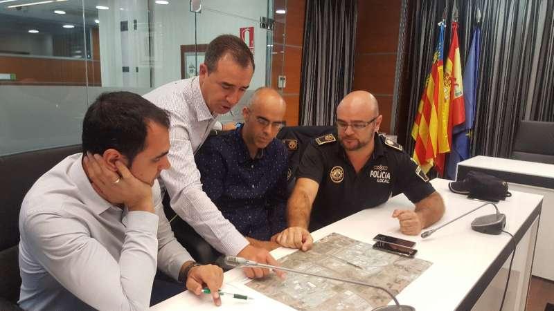 Reunión de protocolo de actuación de emergencias