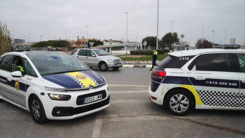 Imagen de la Policía Local de Canet. / EPDA