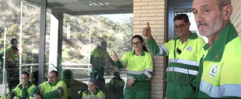 Trabajadores del CVI. EPDA