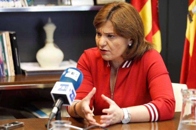 Isabel Bonig, presidenta del PP valenciano y candidata a la Generalitat. EFE