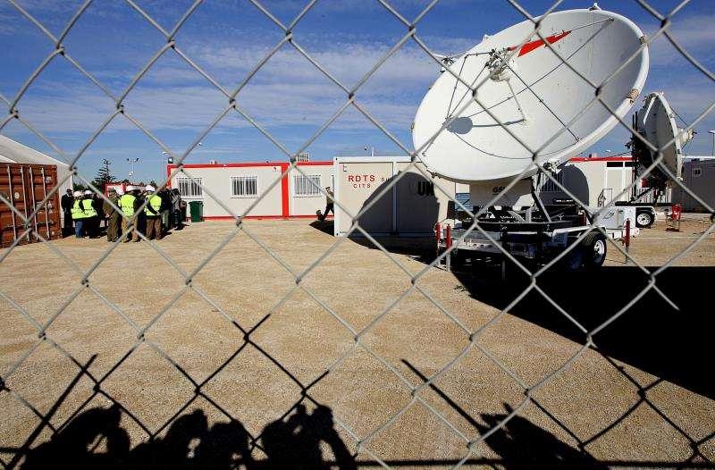 El Centro de Comunicaciones y Datos de Naciones Unidas en Quart de Poblet (Valencia) en reforma. EFE/Archivo