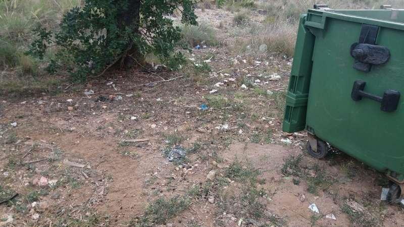 El Ayuntamiento retira 26760 kilos de residuos de vertederos incontrolados de zonas diseminadas