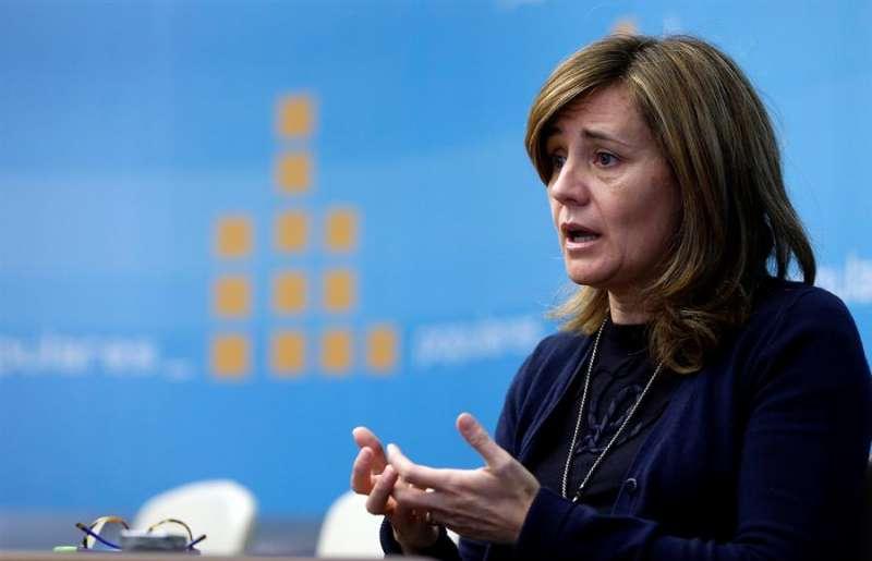 La portavoz adjunta del PP en Les Corts, Elena Bastidas. EFE/Kai Försterling/Archivo