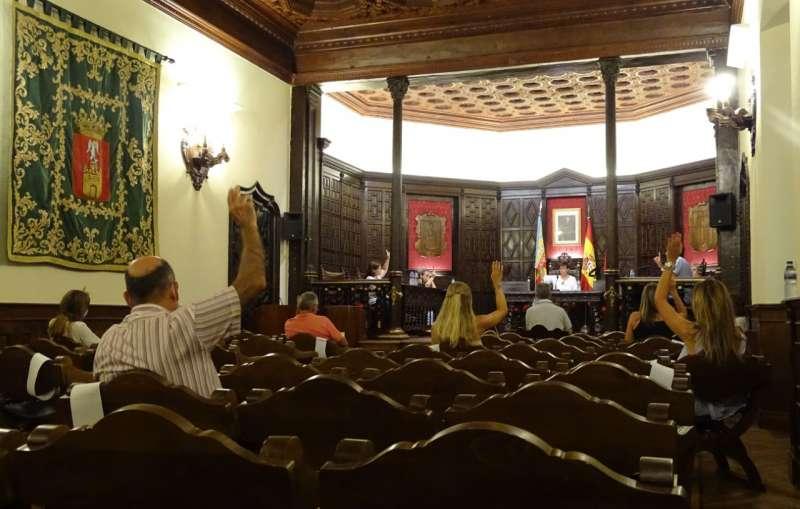 Pleno municipal. Foto: Archivo
