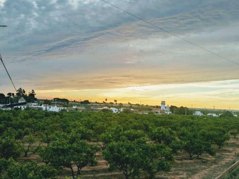 Vista general de Sant Isidre de Benaixeve. EPDA