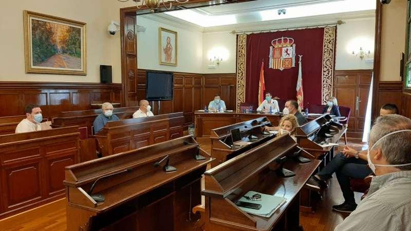 Salón de sesiones de la Diputación
