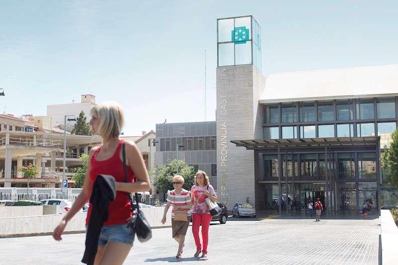 Imagen de archivo de la fachada del hospital provincial de Castellón. EFE/Domenech Castelló/EFE