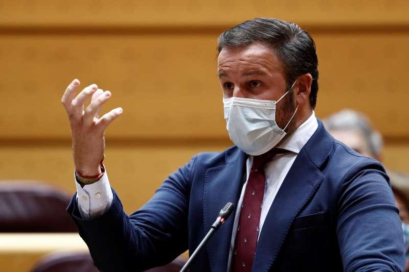 El presidente del PP de Elche, Pablo Ruz, en una imagen de archivo.