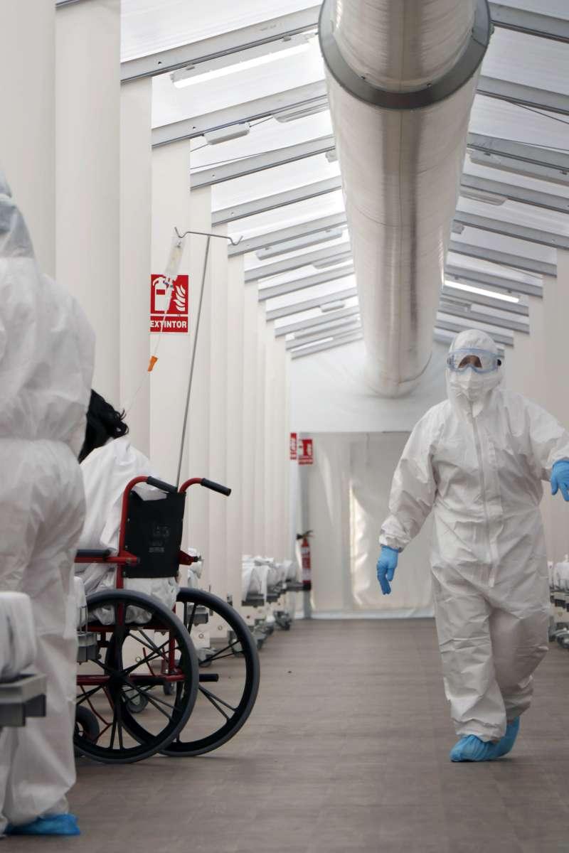 Imagen del Hospital de Campaña.