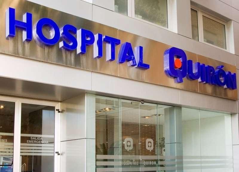 Hospital Quirón, València, uno de los centros nominados al premio.- EPDA