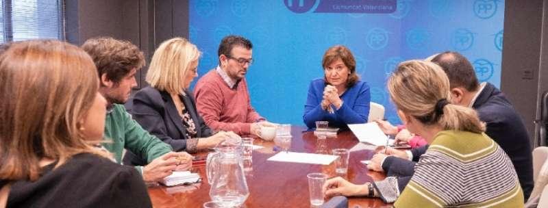 La Presidenta del Partido Popular de la Comunitat Valenciana (PPCV), Isabel Bonig
