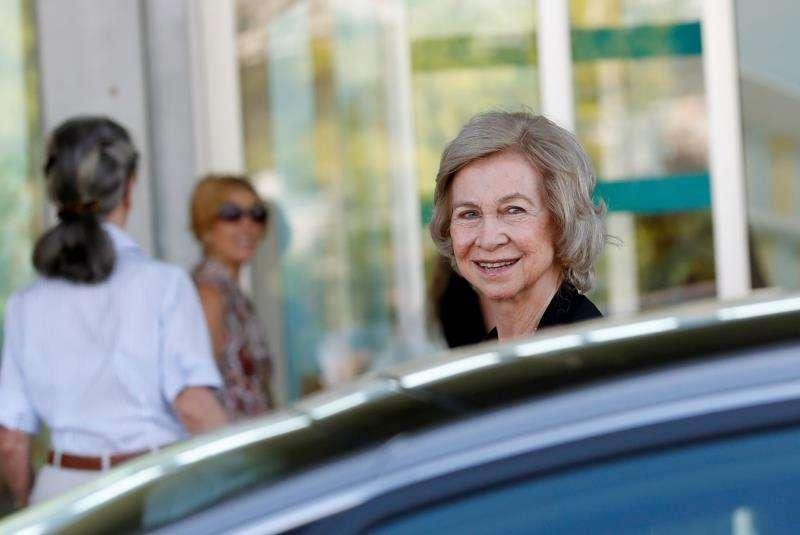 La reina emérita doña Sofía, en una imagen reciente. EFE