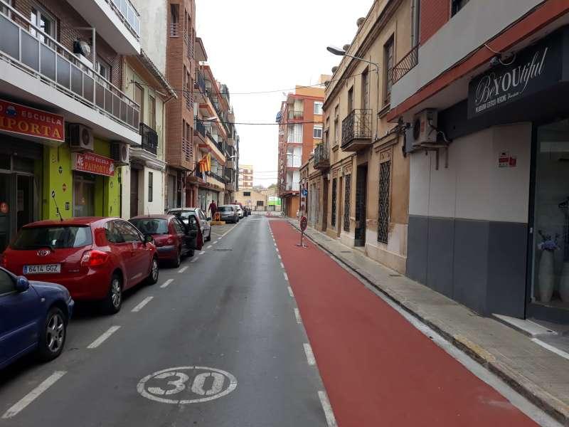 Imagen del carril bici