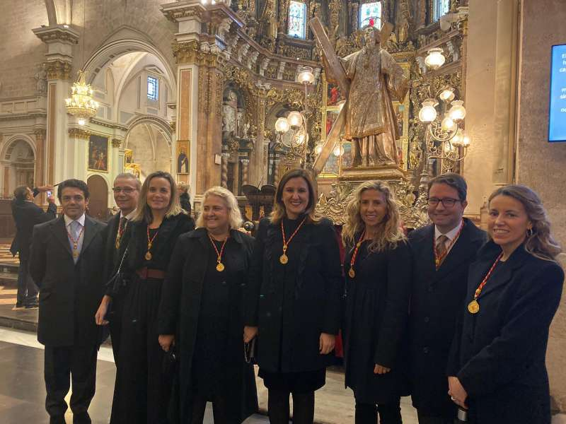 Catalá y sus compañeros de grupo. EPDA
