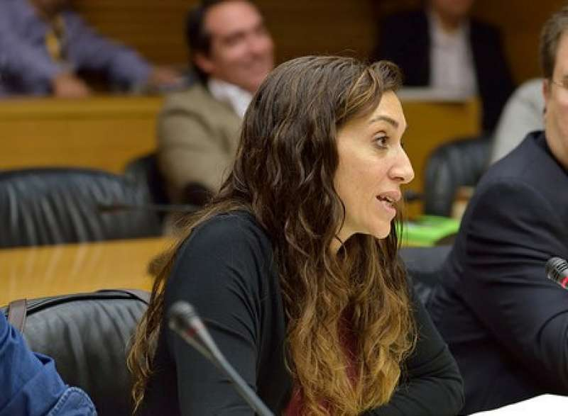 La diputada de Compromís a les Corts, Isaura Navarro