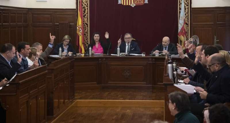 Pleno de la Diputación de hoy