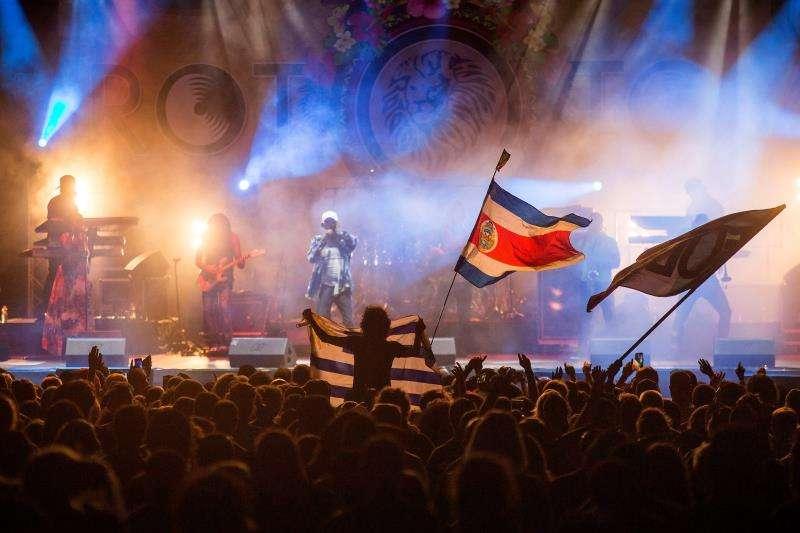 Imagen de un concierto durante el festival Rototom Sunsplash. EFE/Archivo