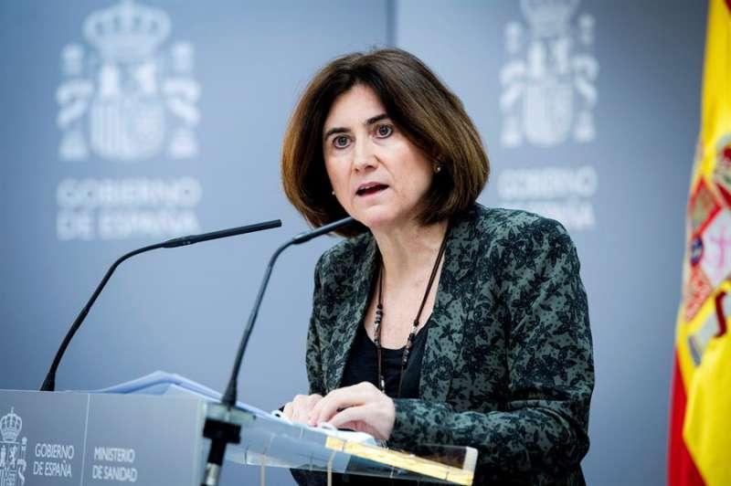 María José Sierra, jefa de área del Centro de Coordinación de Alertas y Emergencias Sanitarias del Ministerio español de Sanidad. EFE