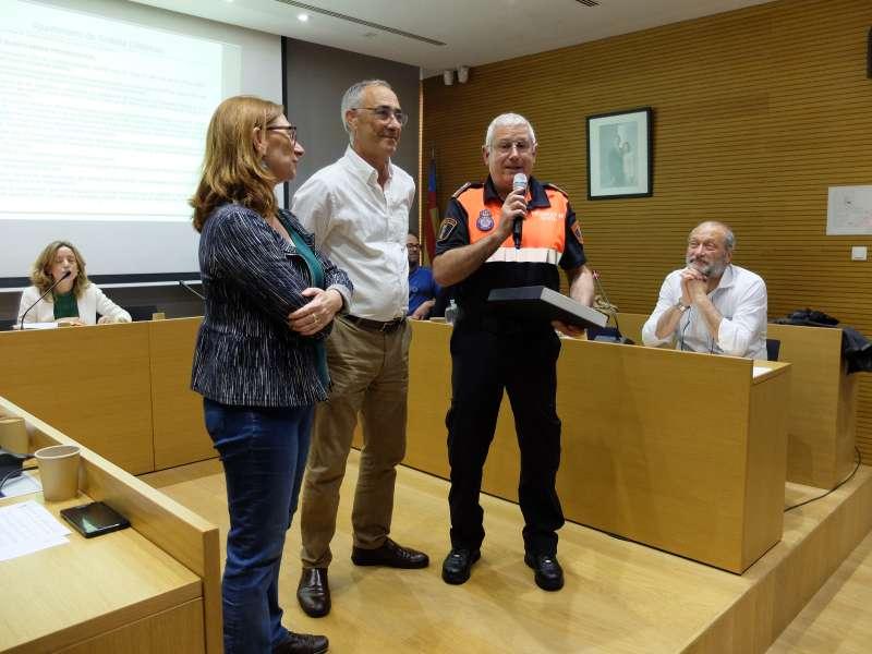 Homenatge a Protecció Civil de Puçol. EPDA