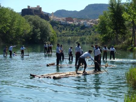Cofrentino bajando por el Río Cabriel. FOTO: EPDA