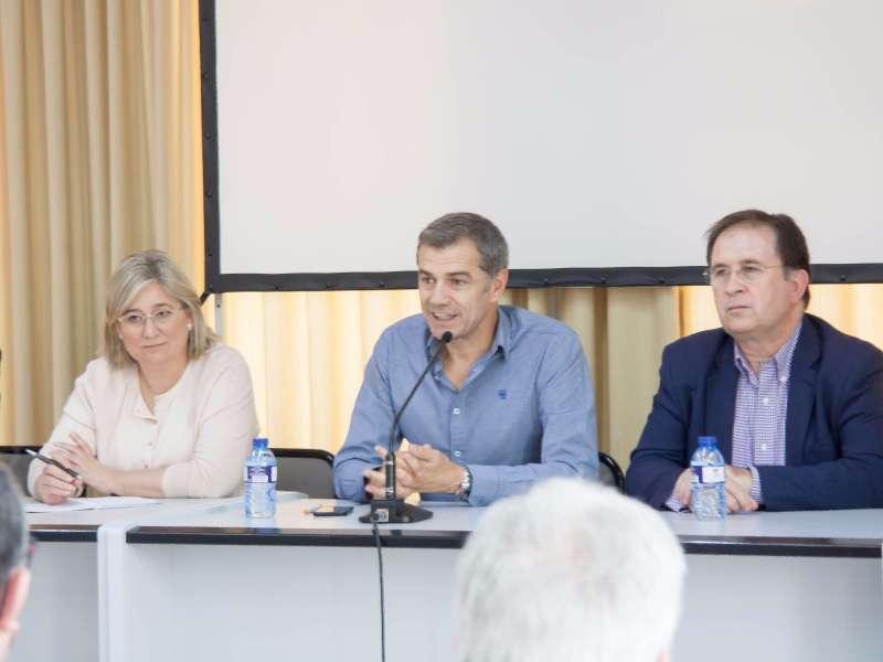 Mamen Peris, Toni Cantó y Juan Córdoba.