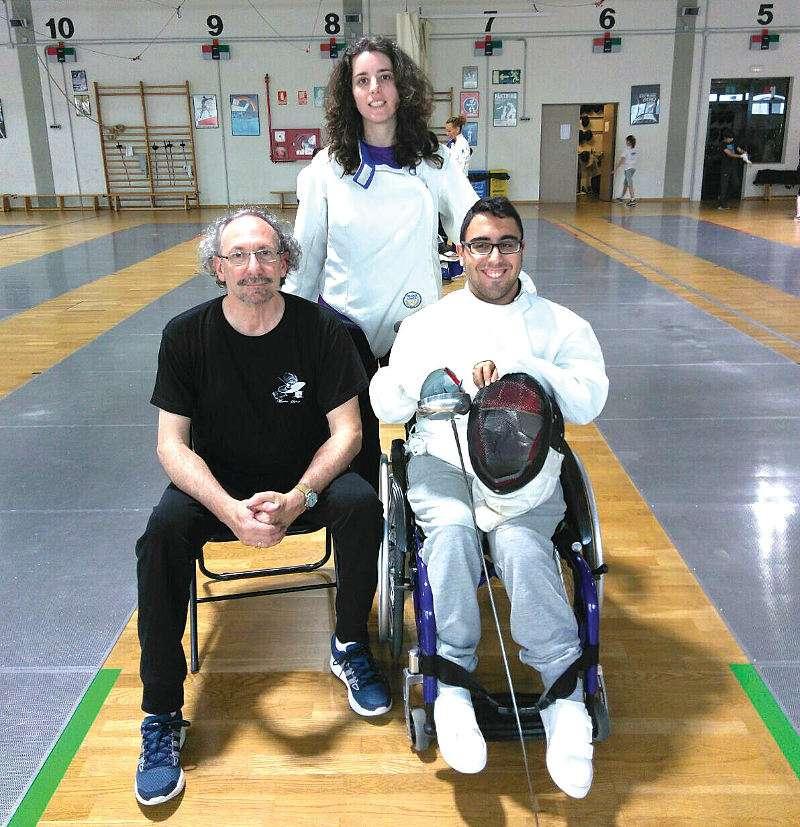 Laura Pérez, Vicente Sanfont y Francisco Vázquez. EPDA