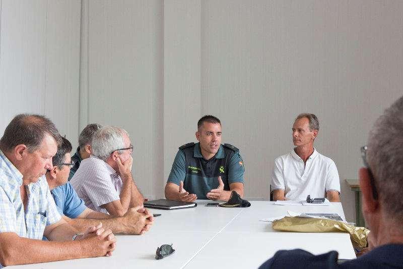 Reunió de seguretat a Picassent. EPDA