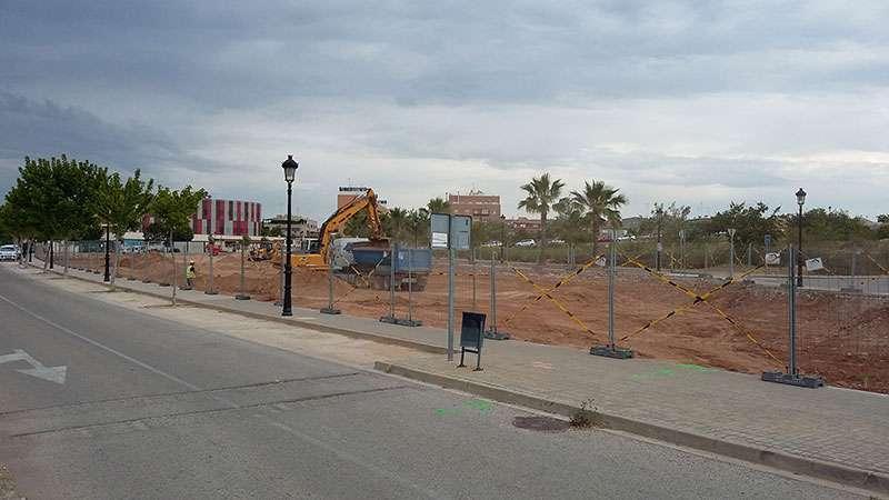 La celeridad en el nuevo parque ha molestado a Mas Camarena CUBE. EPDA