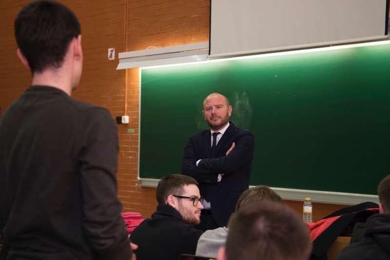 El presidente de la Diputació de València, Toni Gaspar
