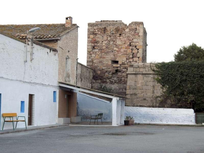 Estado actual de la torre del Grau Vell. EPDA