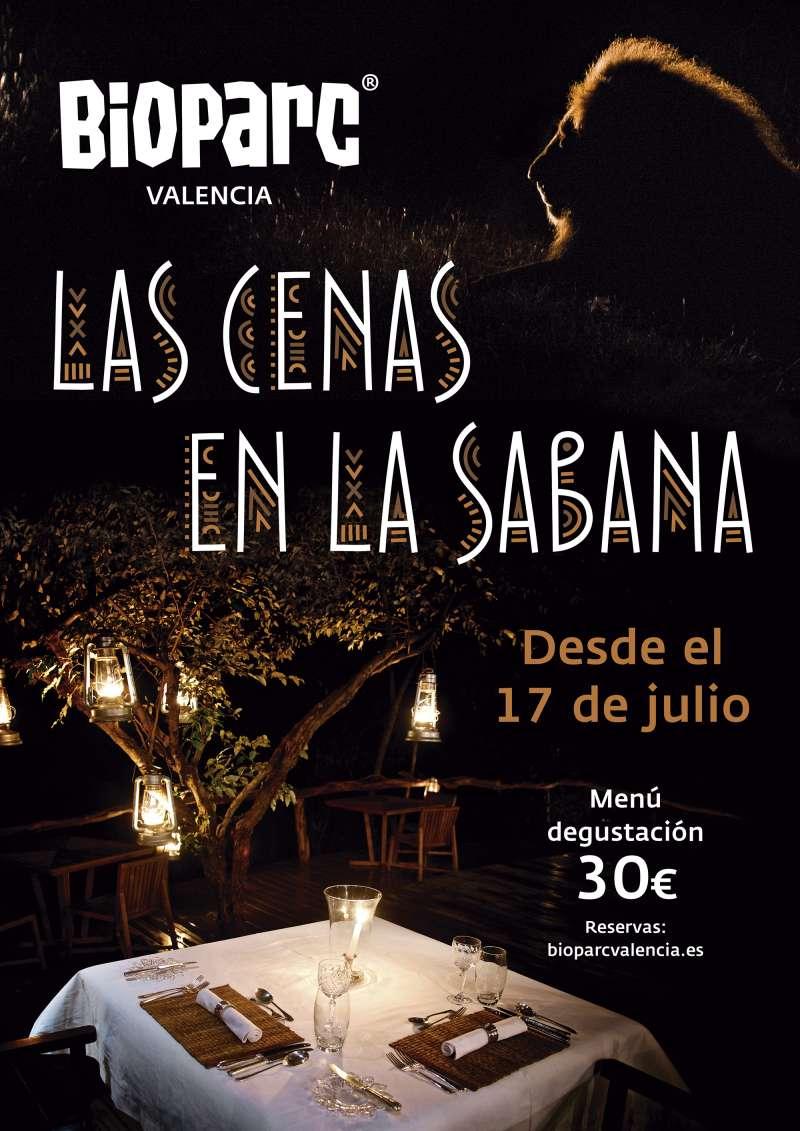 Cenas en la Sabana Bioparc./PDA
