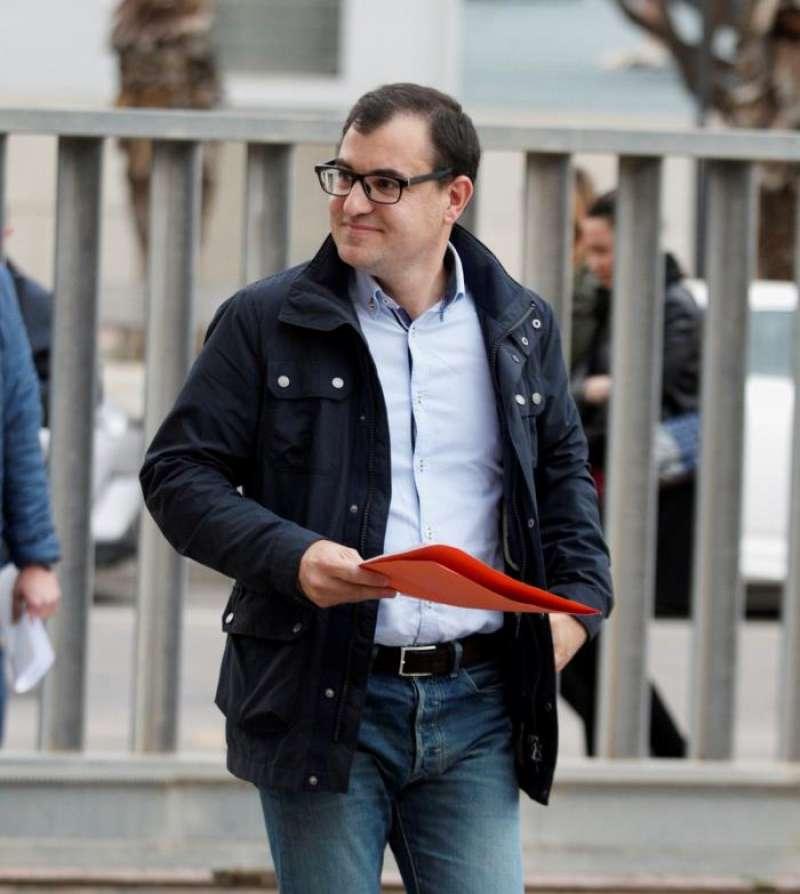 El candidato de Ciudadanos a la Alcaldía de Castelló, Jesús Merino. EFE
